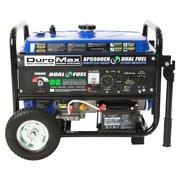 DuroMax XP5500EH 5500-Watt Electric Start Dual Fuel Hybrid Portable Generator