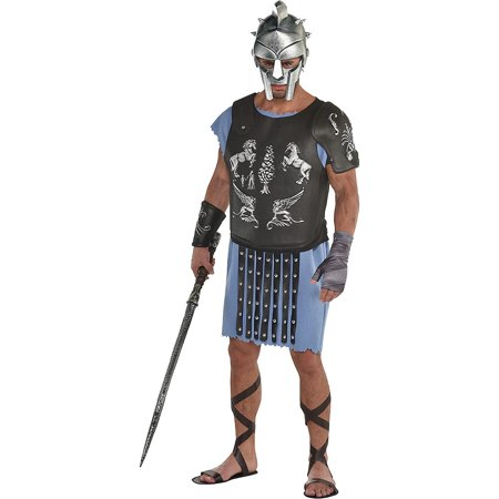 Russell Brand Costume For Halloween (Gladiator Maximus Armor Kit Costume Movie Arena Decimus Meridius Russell)
