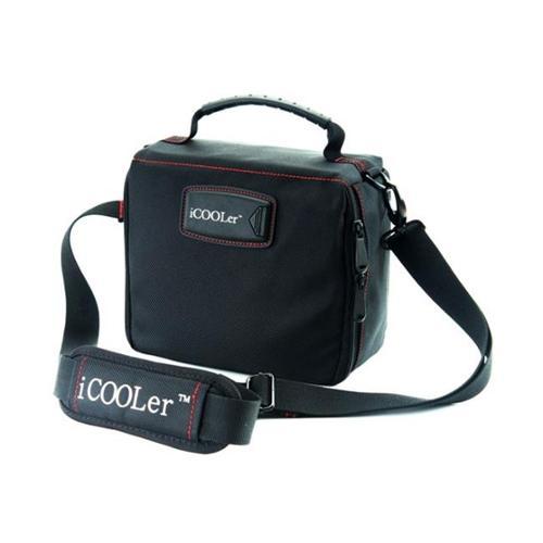 iCOOLer 15968 Freezable Lunch & Beverage Bag - Large, Black