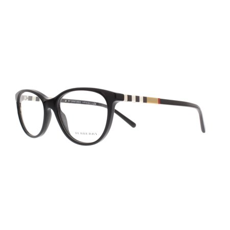 BURBERRY Eyeglasses BE2205 3001 Black (Burberry Eyeglasses Men)