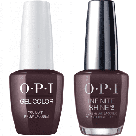 OPI GELCOLOR YOU DON'T KNOW JACQUES #F15 + INFINITE SHINE #F15 - image 1 of 1
