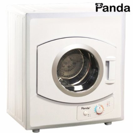 Panda Compact Dryer 110V Stainless Steel Drum 2.65cu.ft