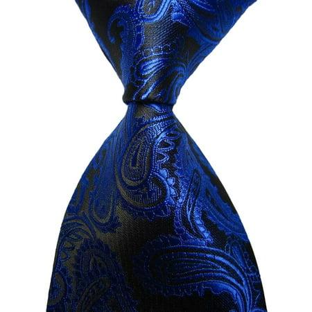 Mens Tie, Coxeer Classic Paisley Necktie for Wedding Party - Robert Talbott Paisley Tie