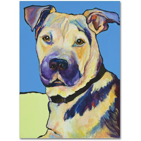 "Trademark Fine Art ""Tag"" Canvas Art by Pat Saunders-White"