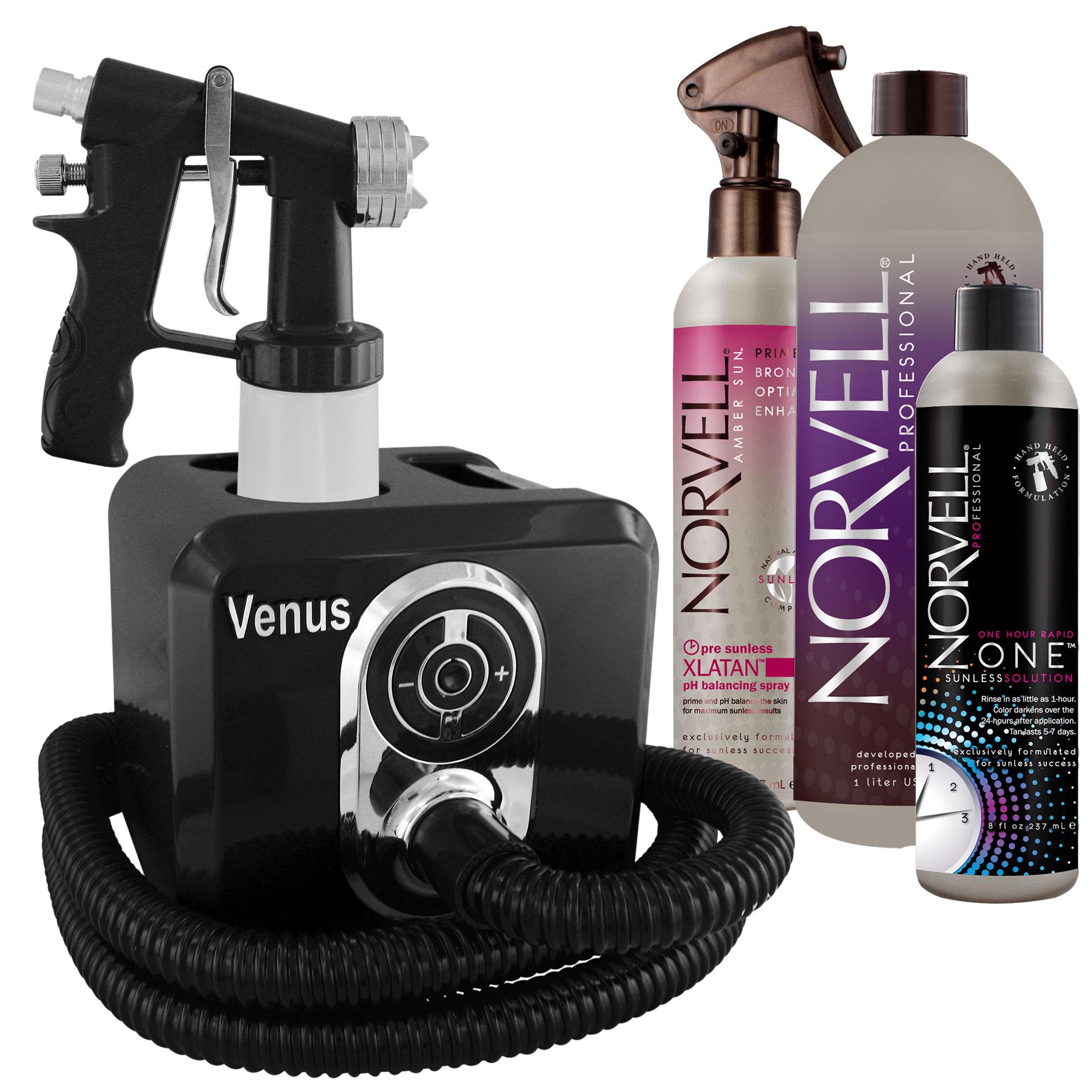 Venus Spray Tanning Machine Kit with Sunless Airbrush Tan...