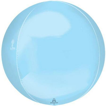 Pastel Blue Orbz Balloon 16