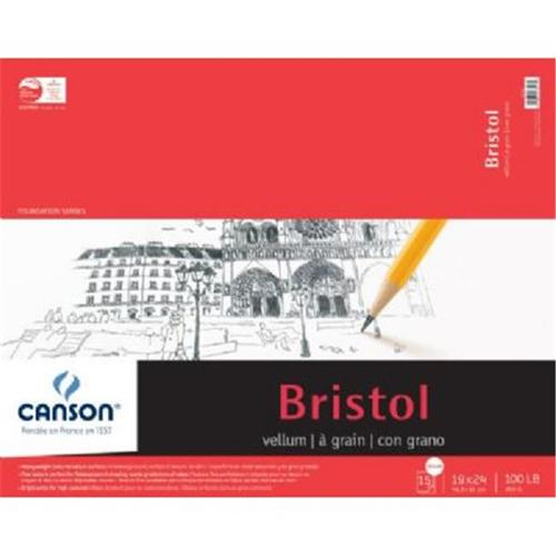 Canson Bristol Paper: Vellum, 19 x 24 inches