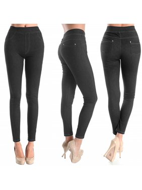 1803b8d0a397b7 Product Image Women Skinny Jegging Blue Stretchy Sexy Pants Pencil Leggings  Jeans Soft SM L XL