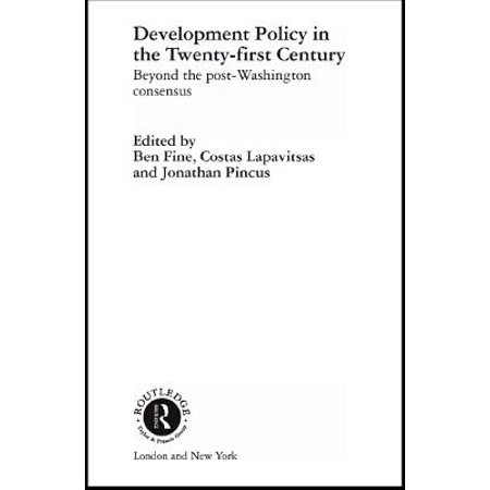 Ben Fine (Development Policy in the Twenty-First Century - eBook)