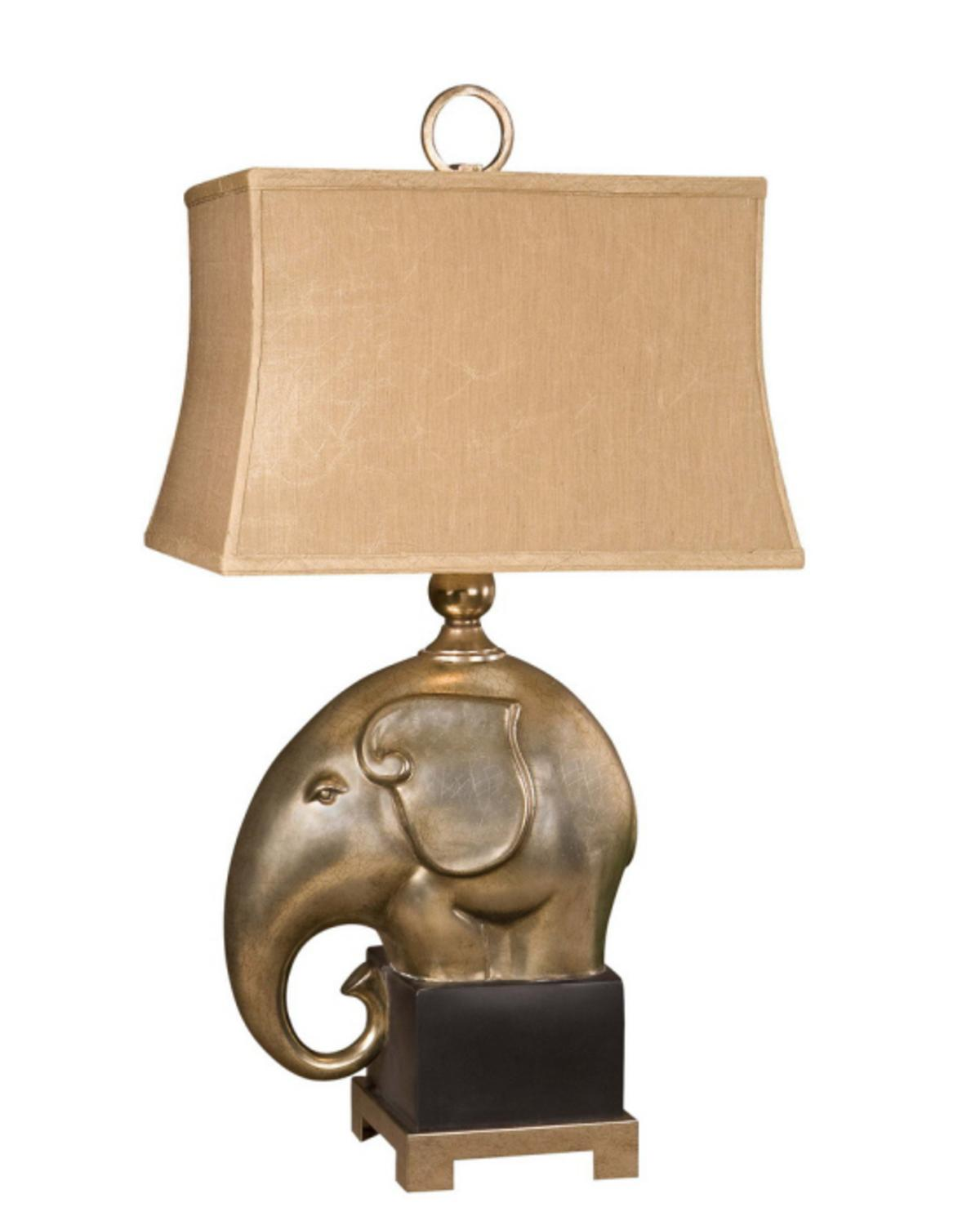 Perfect Elephants On Expedition Sculptural Table Lamp W/Decorative Shade    Walmart.com
