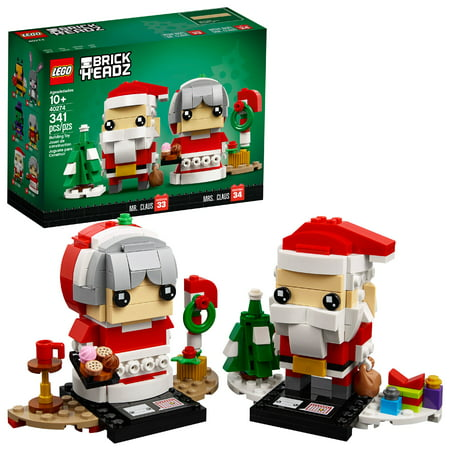 LEGO BrickHeadz Mr. & Mrs. Claus 40274