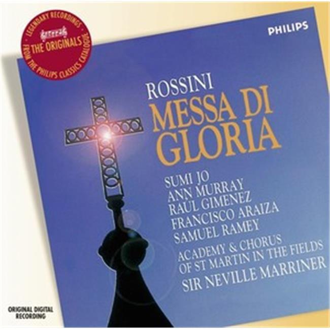 Alfred Music 00-46508 Messa Di Gloria & List CD