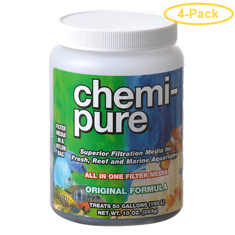 Boyd Enterprises Chemi Pure 10 oz (Treats 50 Gallons) - Pack of 4