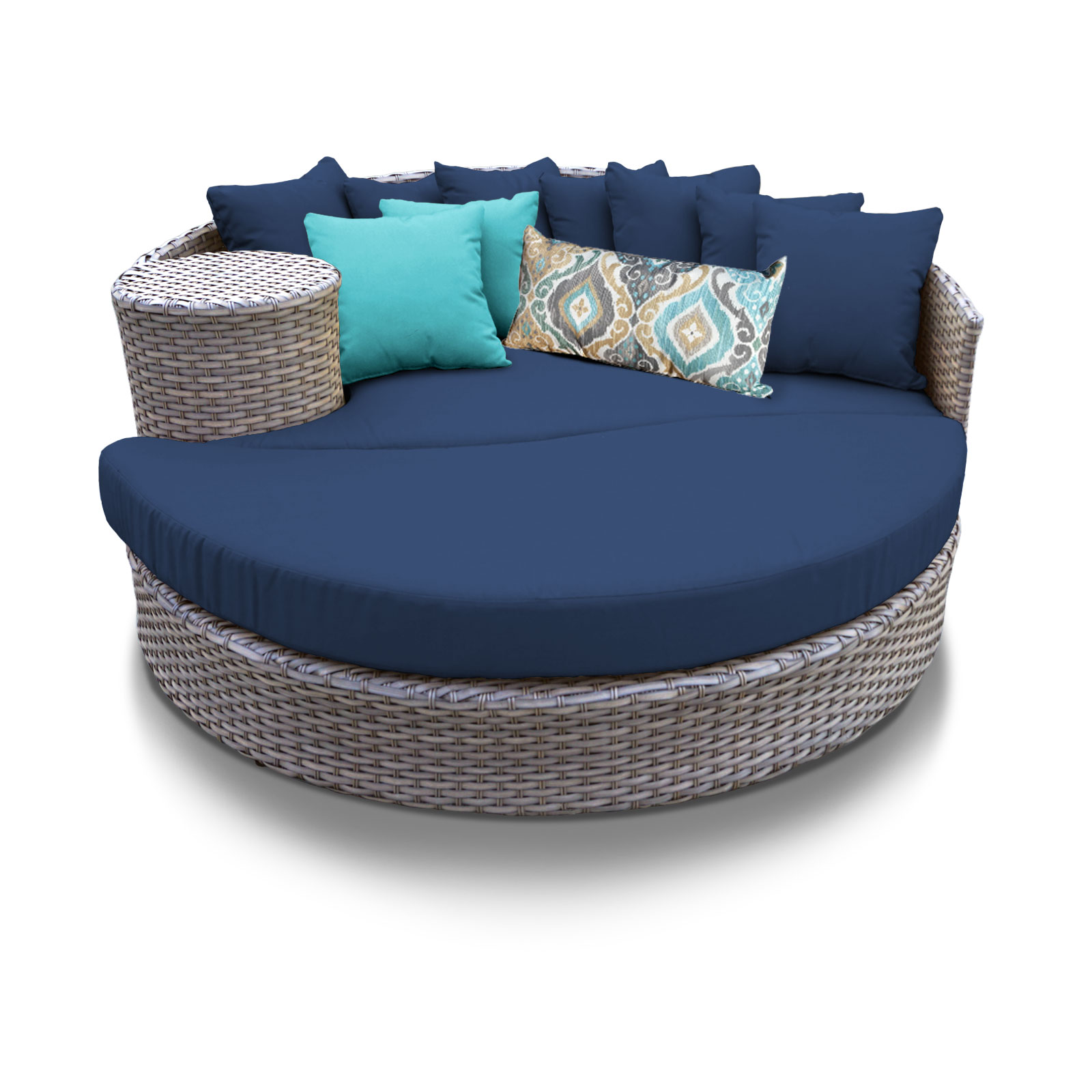 Outstanding Harmony Circular Sun Bed Outdoor Wicker Patio Furniture Download Free Architecture Designs Embacsunscenecom