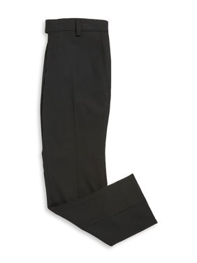 Boy's Slim-Fit Straight-Leg Dress Pants