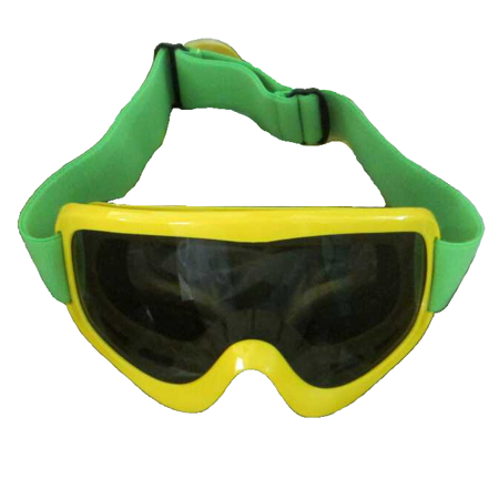 Jamaican Bobsled Team Yellow Goggles Cool Costume Movie Ski Snow Runnings Winter