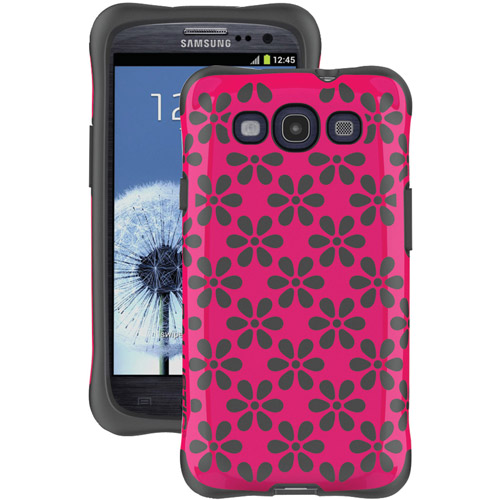 BALLISTIC AP1128-A015 Samsung(R) Galaxy S(R) III Aspira Case (Pink/Gray)