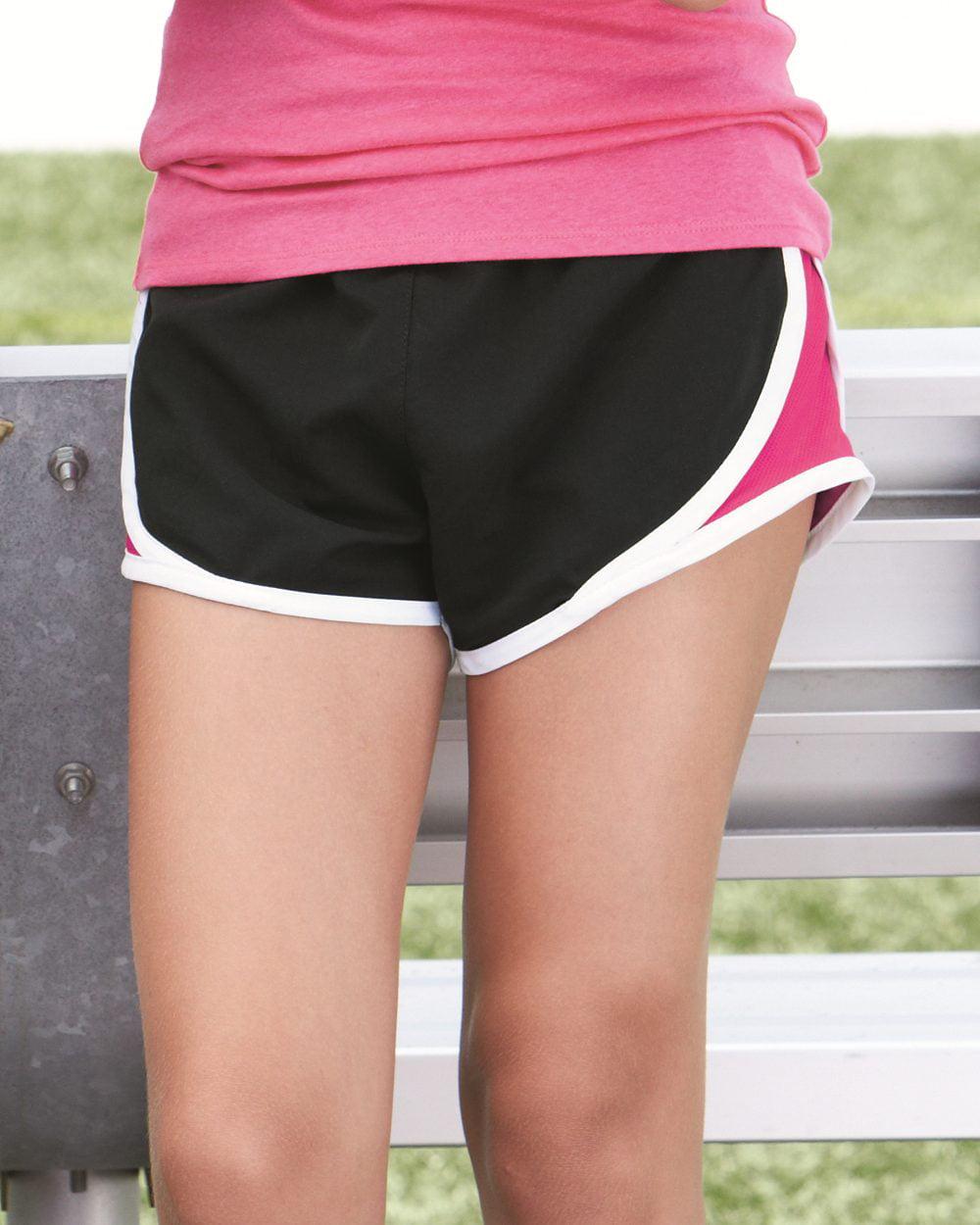 Boxercraft Girls' Velocity Running Shorts