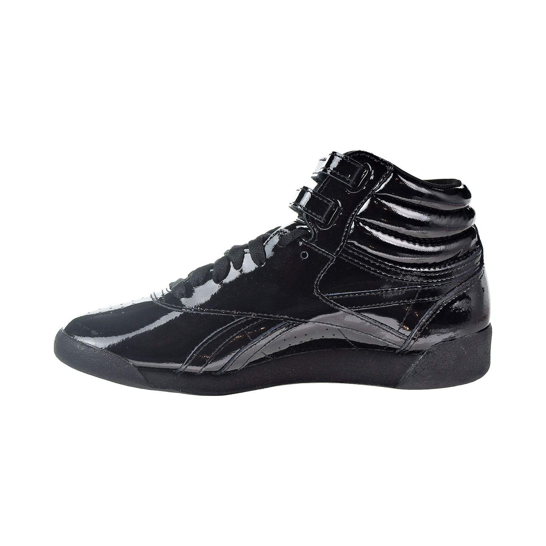 57a164cff80 Reebok - Reebok Classic Freestyle Hi Patent Women s Shoes Black cn2822 -  Walmart.com