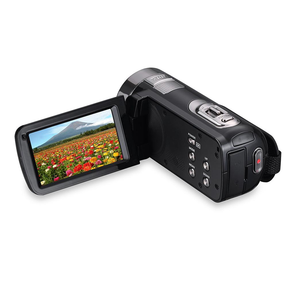 LESHP 5MP LCD Touchscreen Digital Camera Camcorder DV 1080P IR Night Vision~