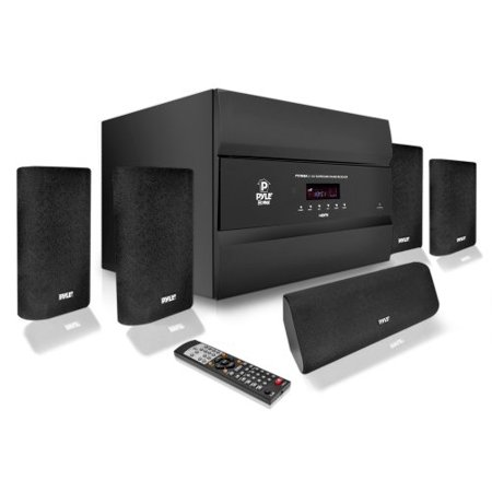 Pyle Pro Pt678hba 5.1-channel, 400-watt Hdmi[r] Home Theater System With Bluetooth[r]