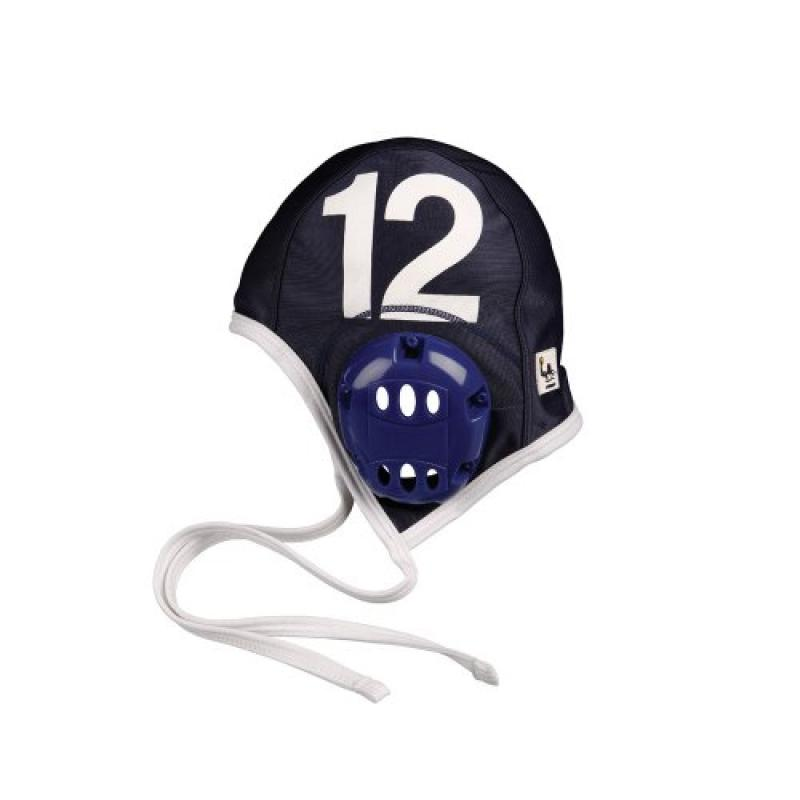 FINIS Adult Water Polo Plastic Caps Team Set, Navy by