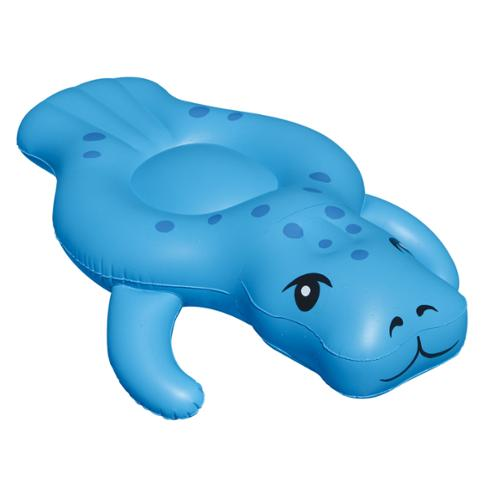 Swimline 90456 Swimming Pool Giant Inflatable Rideable Manatee Ride-On Float Toy
