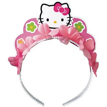 Hello Kitty Party Tiara (each) - Party Supplies](Hello Kitty Theme Party)