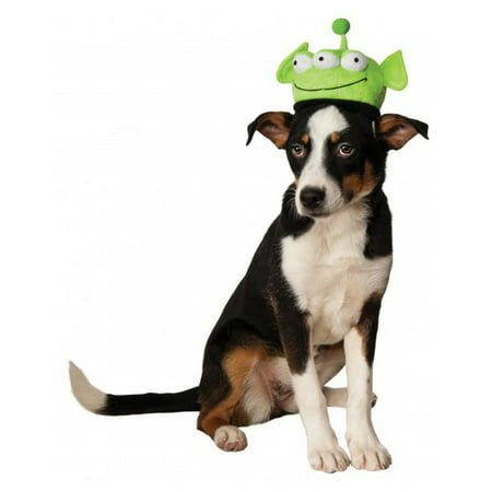 Toy Story Pet Dog Cat Green Space Alien Costume Headpiece Hat (Toy Story Alien Hat)