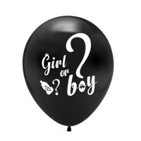 "AkoaDa 10X 12"" He Or She Gender Reveal Baby Shower Latex Balloon Assortment Birth Party"