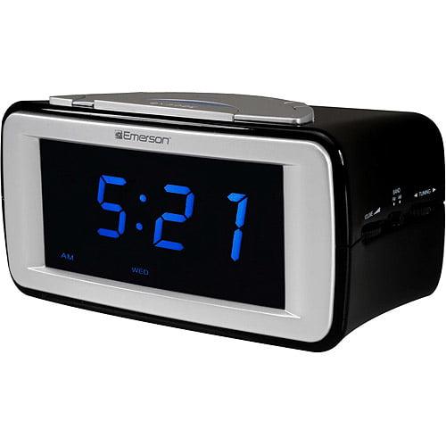Emerson SmartSet Dual Alarm AM/FM Clock Radio With SureAlarm