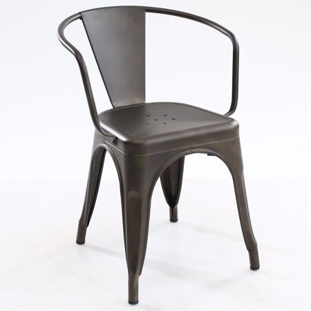 Poly and Bark Trattoria Arm Chair in Bronze