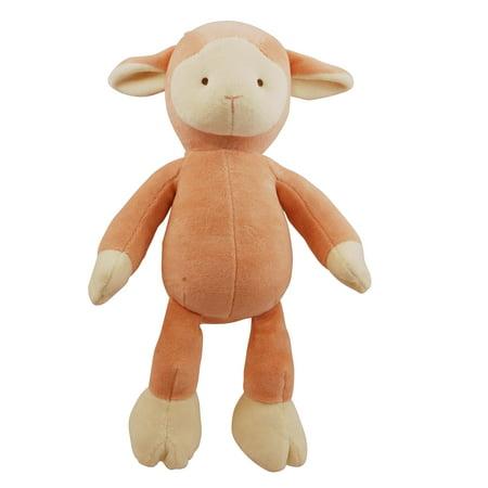 Brooklyn Design Lolly Lamb Squeaker Plush Dog Toy
