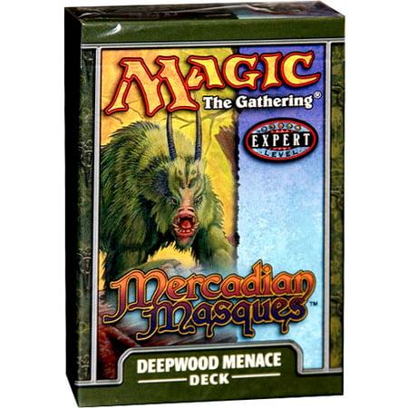 MtG Mercadian Masques Deepwood Menace Theme Deck