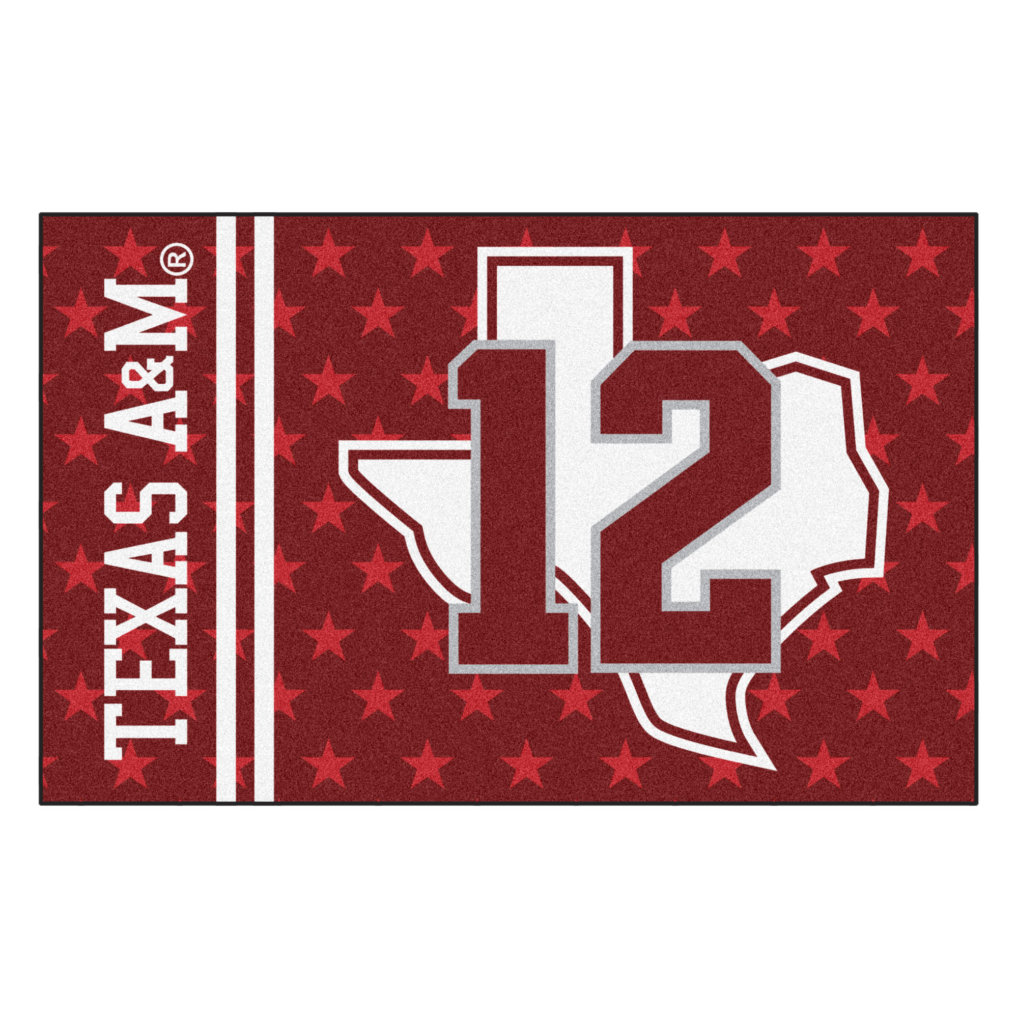 "Texas A&M Uniform Starter Rug 19""x30"""