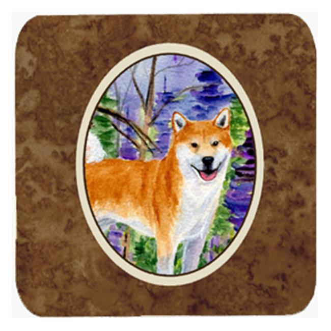 Carolines Treasures SS8629FC Shiba Inu Foam Coasters, Set Of 4 - image 1 of 1