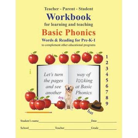 Basic Learning Series - Teacher-Parent-Student Workbook for Learning and Teaching Basic Phonics