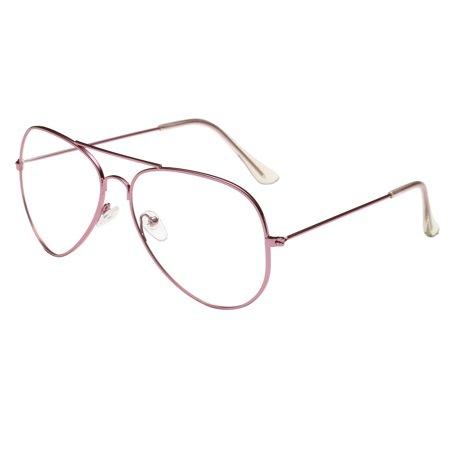 Men Women Clear Lens Glasses Metal Spectacle Frame Myopia Eyeglasses  Lunette Fe - Walmart.com 1011177d4dc4