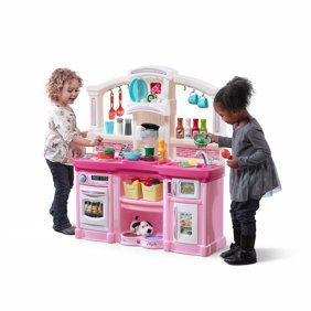 Step2 Little Bakers Kids Play Kitchen With 30 Piece Accessory Play Set Walmart Com Walmart Com