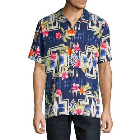 23b109e0 Tommy Bahama - Pendleton Aloha Harding Silk Camp Button-Down Shirt ...