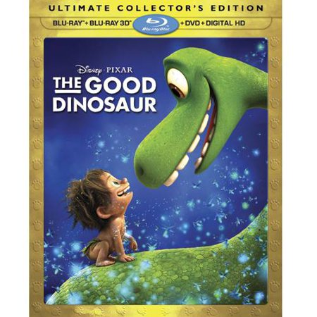 The Good Dinosaur (Ultimate Collector's Edition) (Blu-ray + Blu-ray 3D + DVD + Digital HD) - The Dinosaur Place Coupons