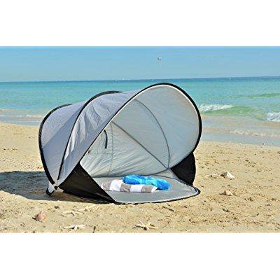 sports shoes fcc9c 029a9 instapalm portable pop up cabana beach tent and sun shelter