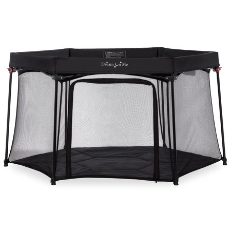 Dream On Me Onyx Playpen, Black