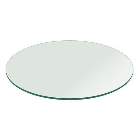 "30"" Round Tempered Glass Table Top"