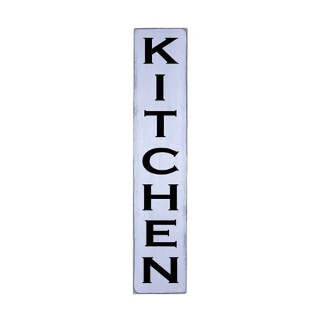 Kitchen Handmade Farmhouse Wall Art Vertical Wood Sign 10 In X 48
