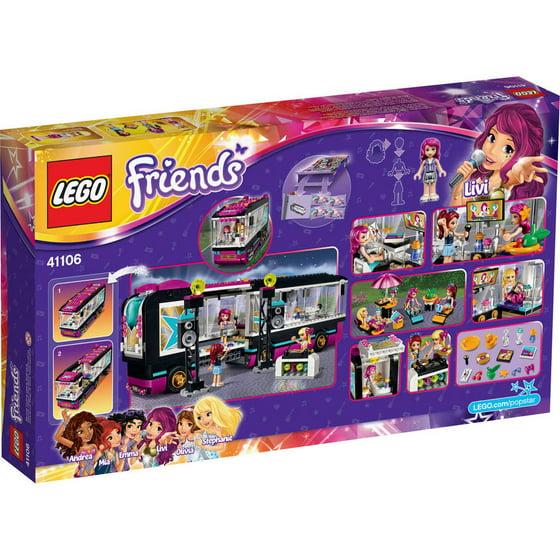 Lego Friends Pop Star Tour Bus 41106 Walmartcom