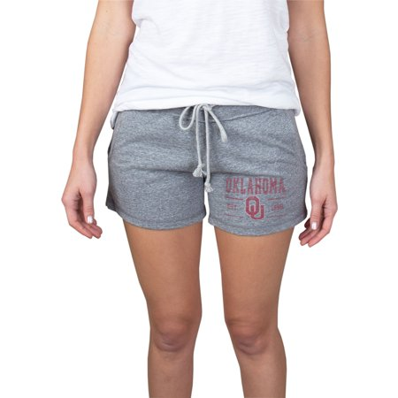 Women's Gray Oklahoma Sooners Pike Knit Shorts