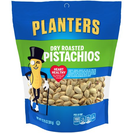 (2 Pack) Planters Dry Roasted Pistachios, 12.75 oz Pouch