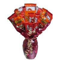Ultimate Peanut Butter Lovers Candy Bouquet