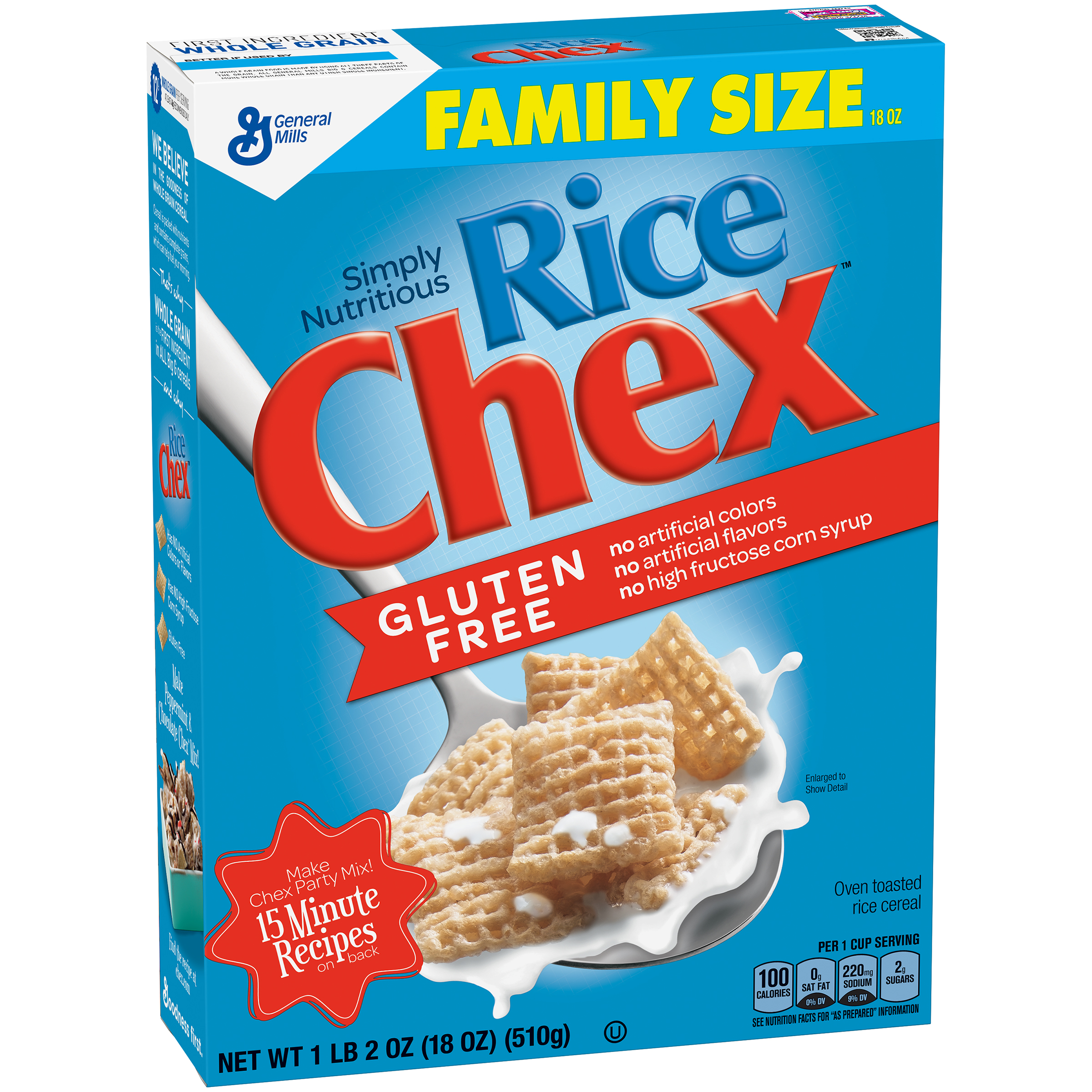 Rice Chex��� Gluten Free Cereal 18 oz. Box
